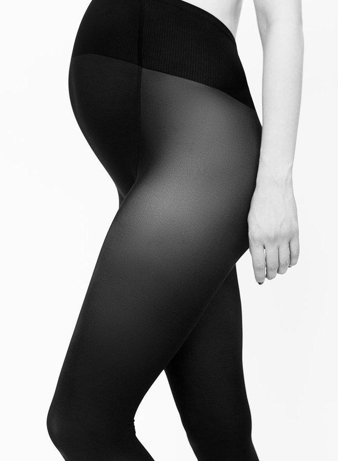 Swedish Stockings | Matilda zwangersschapspanty 60 denier zwart