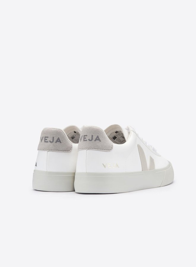 Veja | Women Campo White Natural Suede