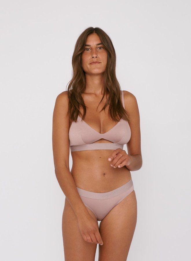 Soft Touch Tanga 2-pack Dusty Rose Tencel ™
