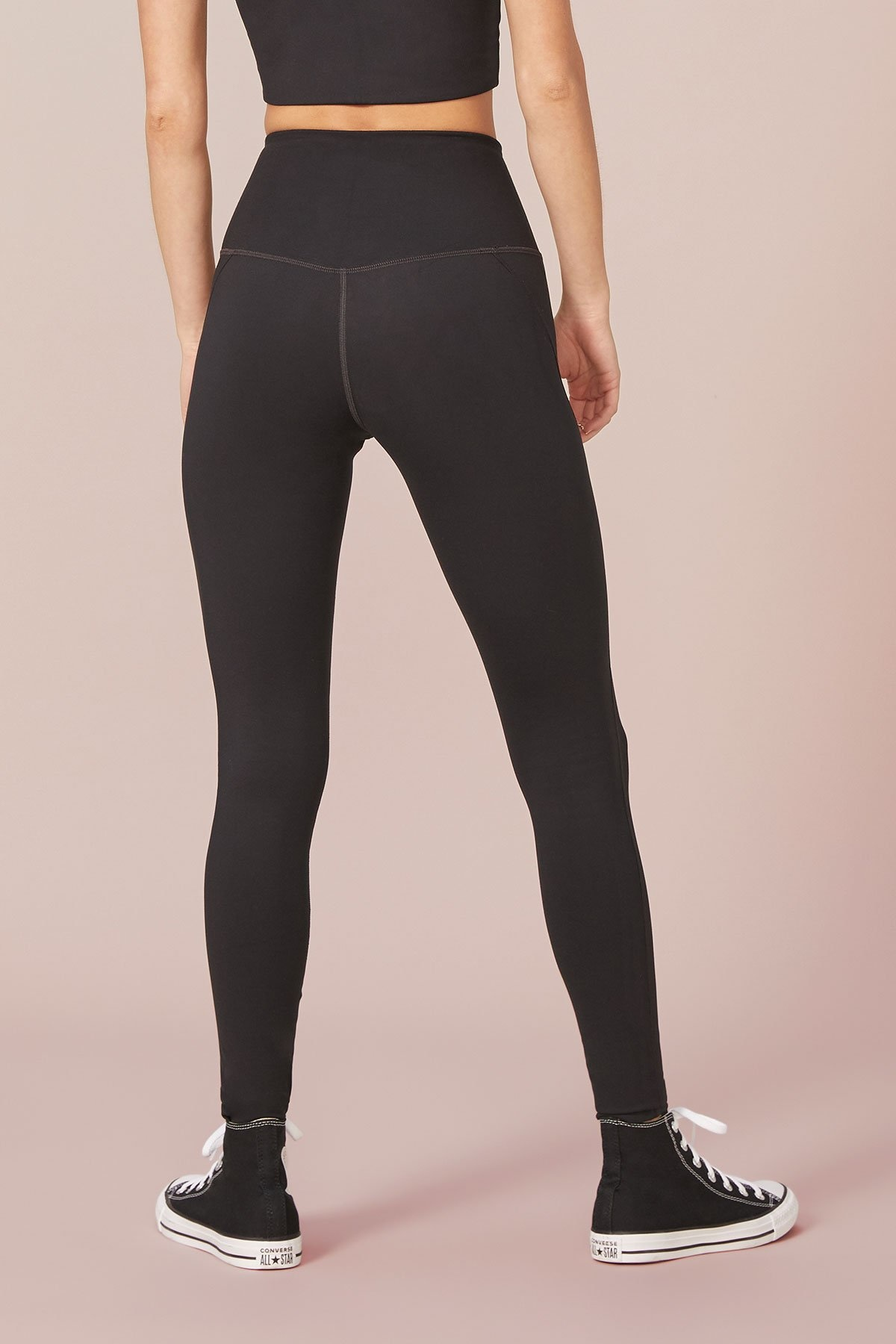 Girlfriend Collective   Compressive high-rise legging zwart-4