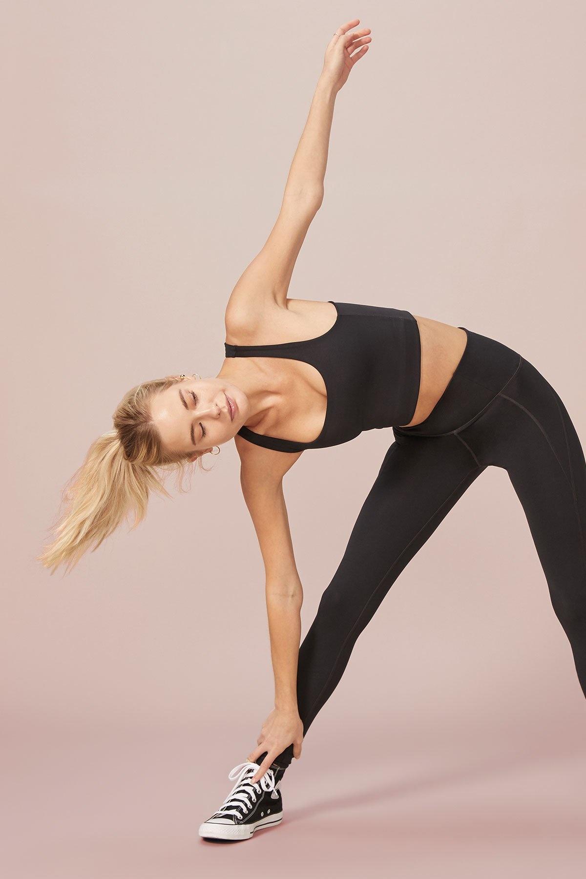 Girlfriend Collective   Compressive high-rise legging zwart-3