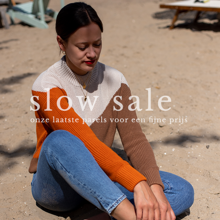 Take it slow - slow fashion in our sustainable webshop