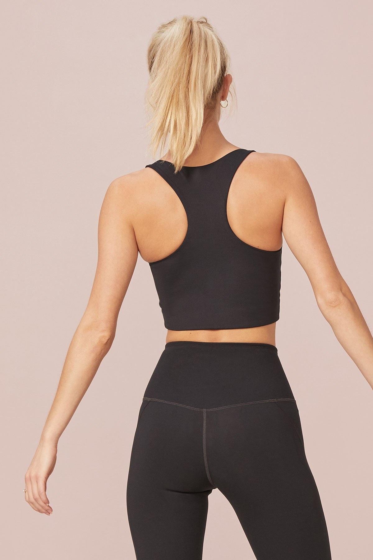 Girlfriend Collective | Paloma sports bra black-5