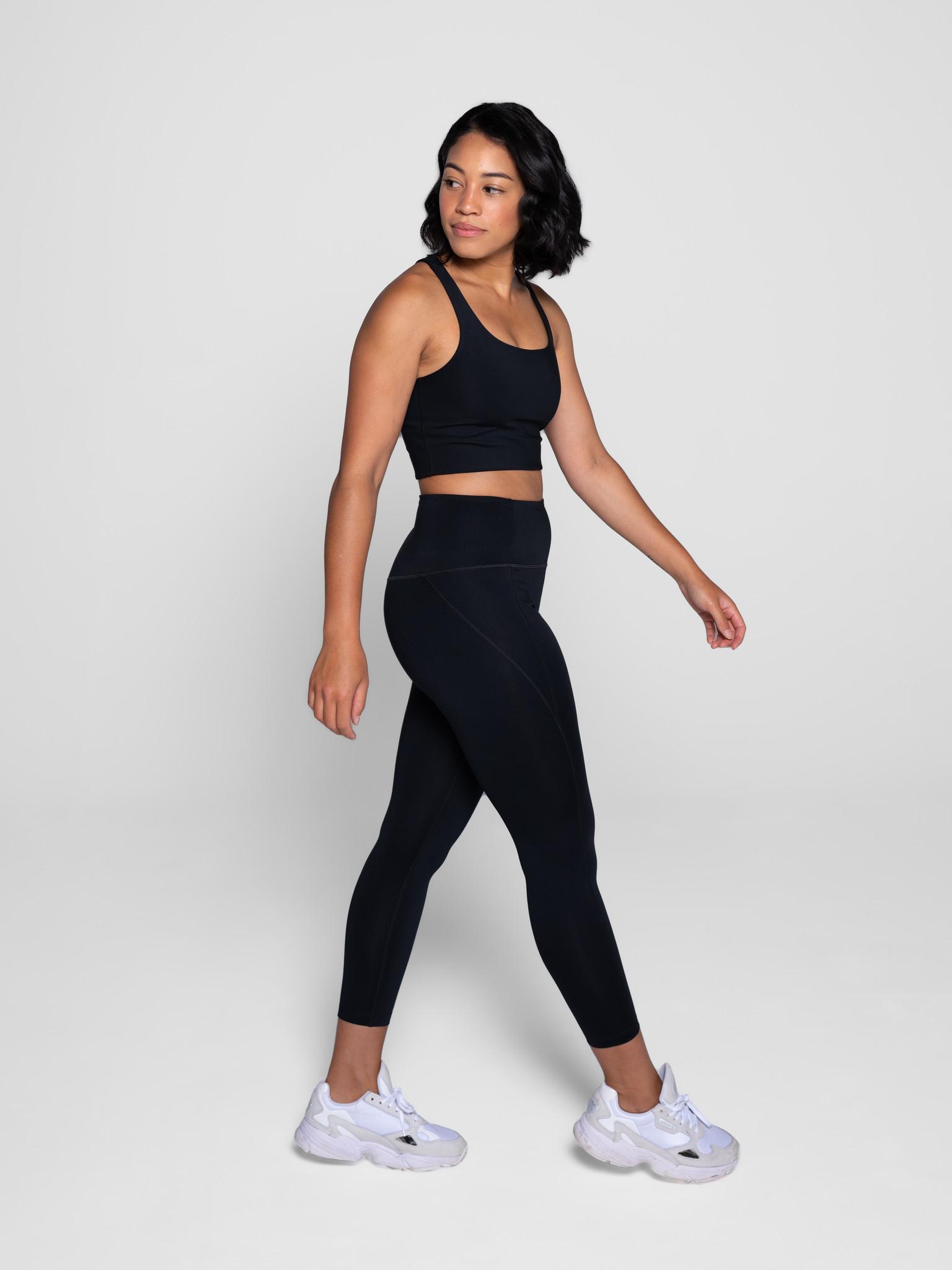 Girlfriend Collective | Paloma sports bra black-2