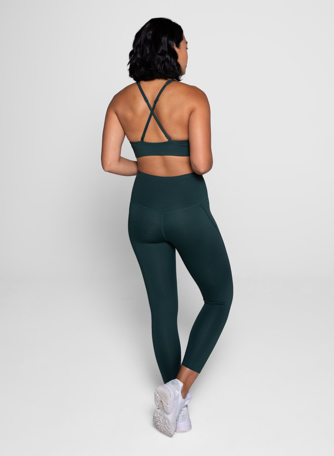 Girlfriend Collective | Compressive high-rise legging moss