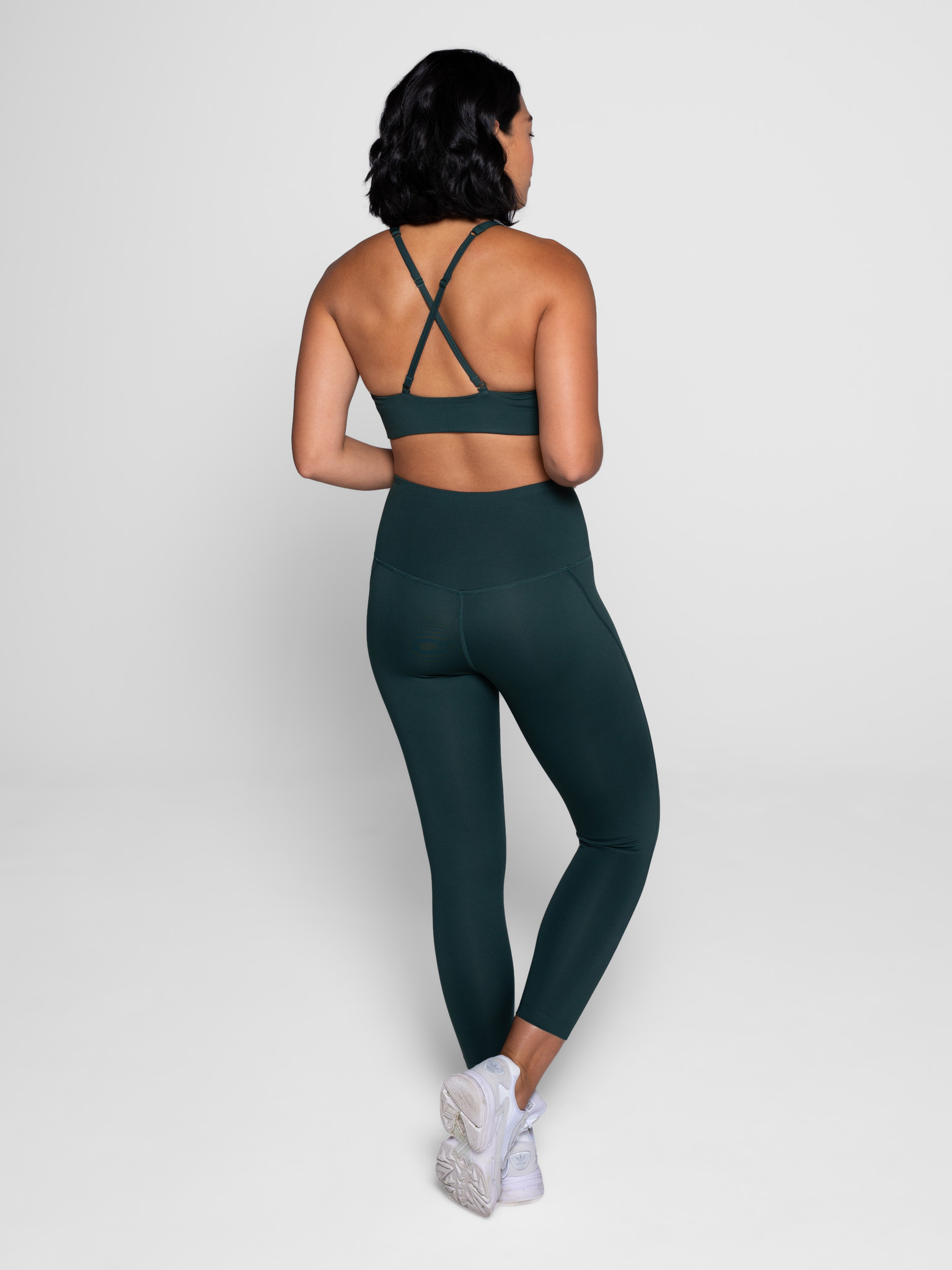 Girlfriend Collective | Compressive high-rise legging moss-3