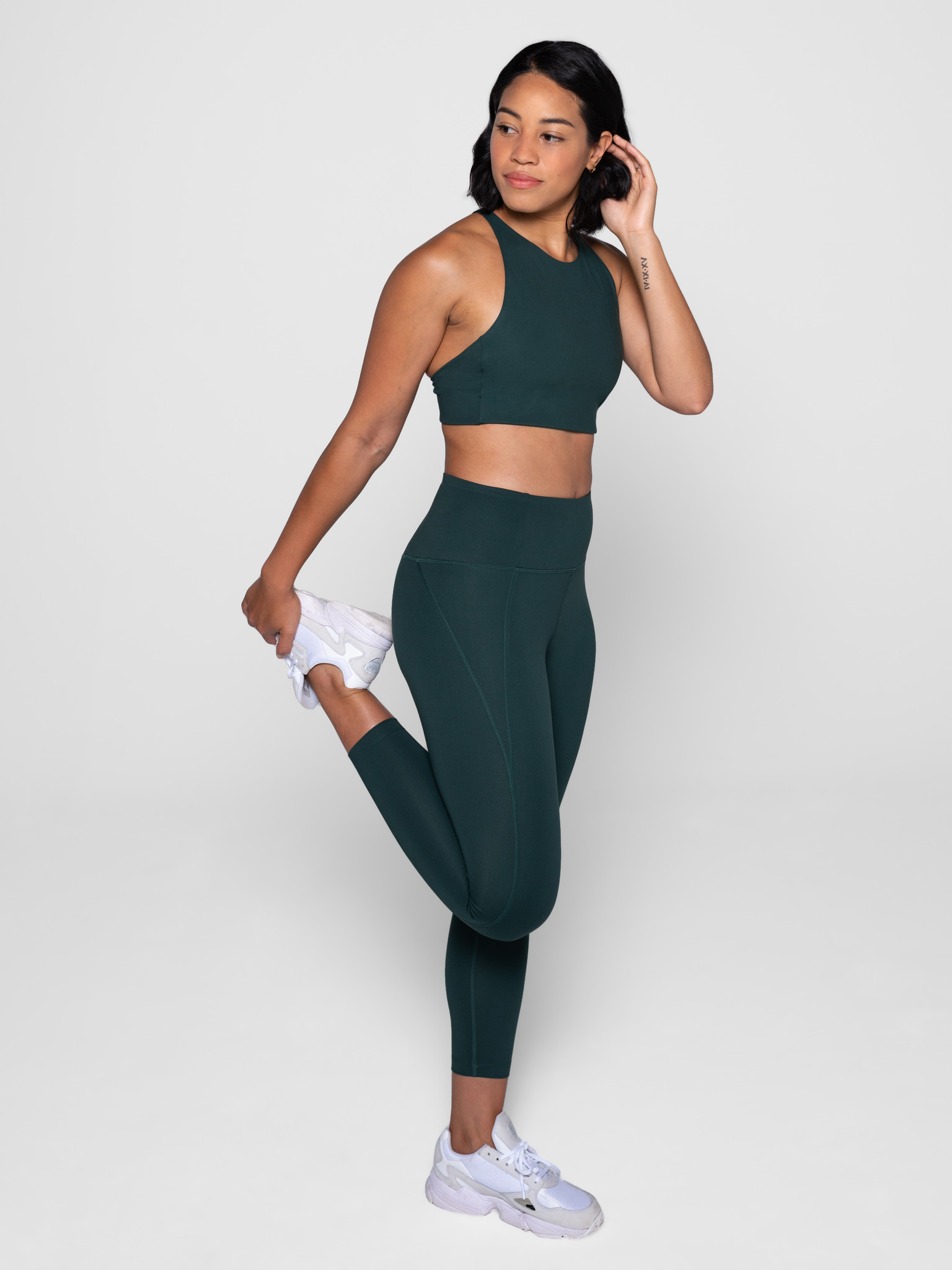 Girlfriend Collective | Compressive high-rise legging moss-4