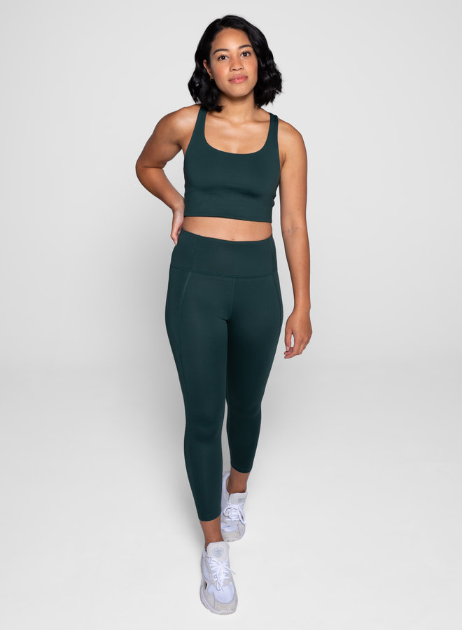 Girlfriend Collective | Paloma sports bra moss