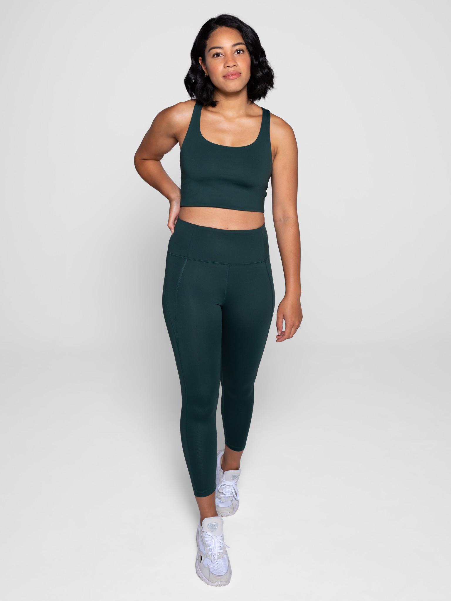Girlfriend Collective | Paloma sports bra moss-2
