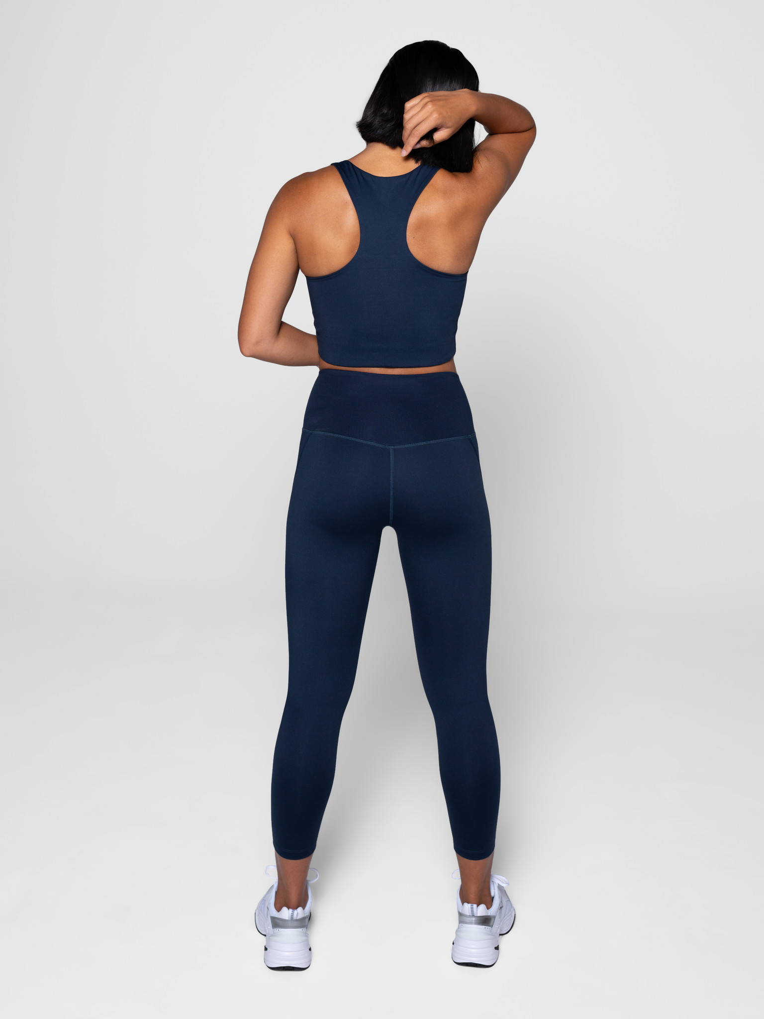 Girlfriend Collective | Compressive high-rise legging midnight-5
