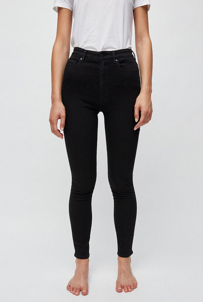 Ingaa X Stretch jeans black-night organic cotton