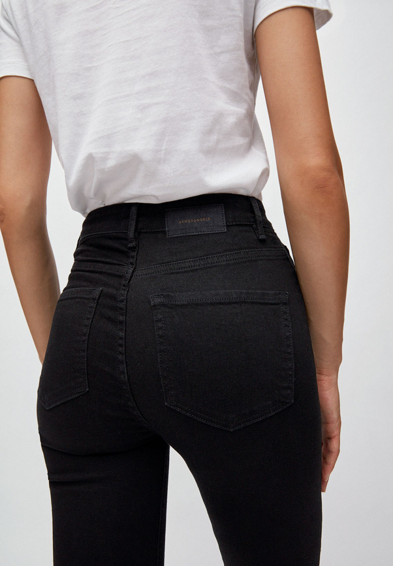 Armedangels | Ingaa X Stretch jeans black night organic cotton-4