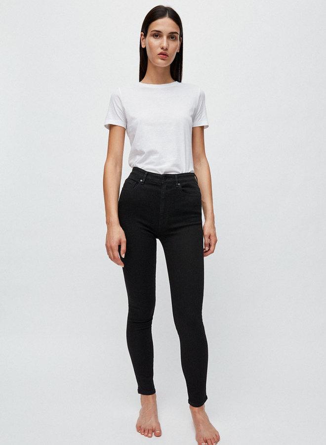 Ingaa X Stretch jeans zwart biologisch katoen