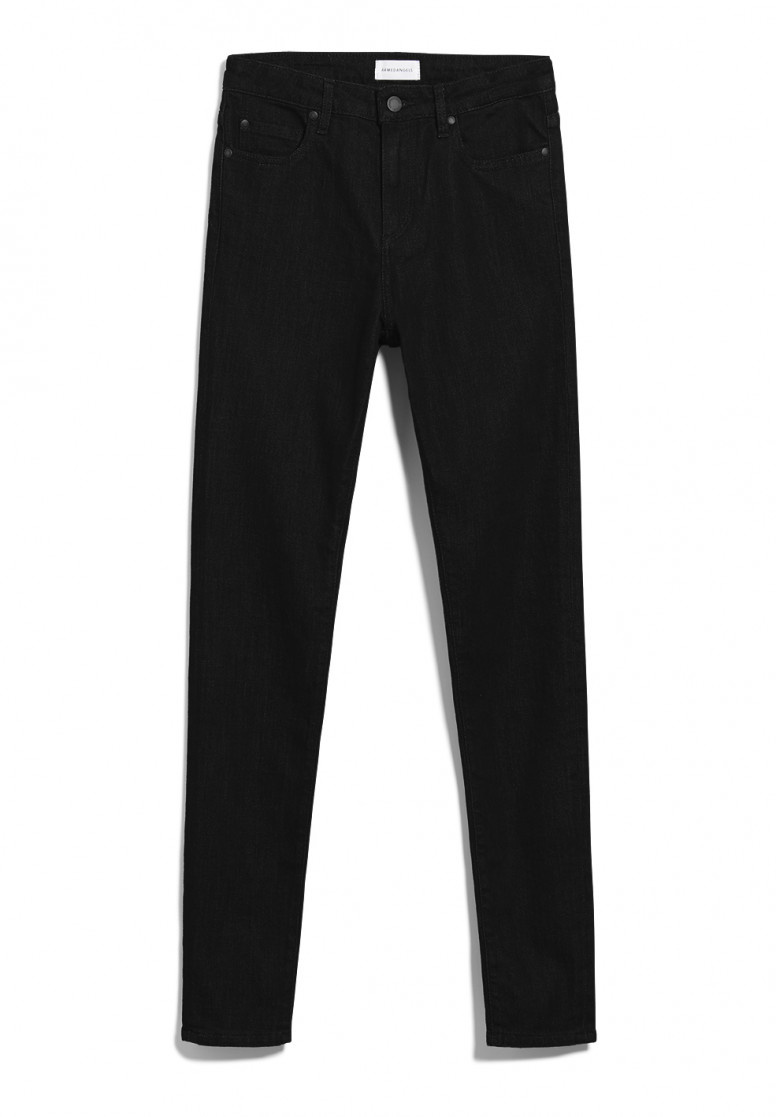 Armedangels | Ingaa X Stretch jeans black night organic cotton-6