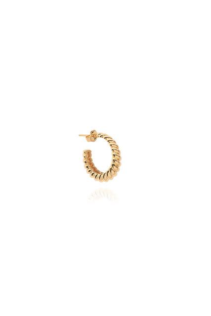 T.I.T.S. | Crossaint earring gold-1