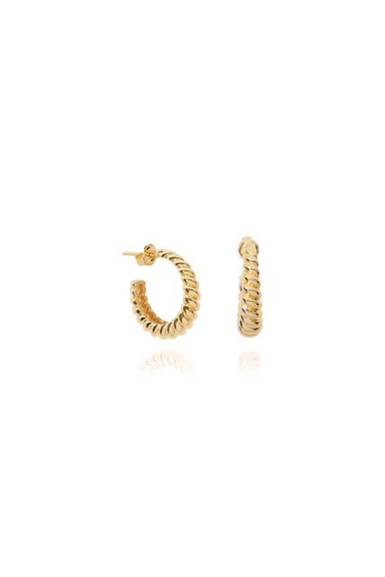 T.I.T.S. | Crossaint earring gold-4