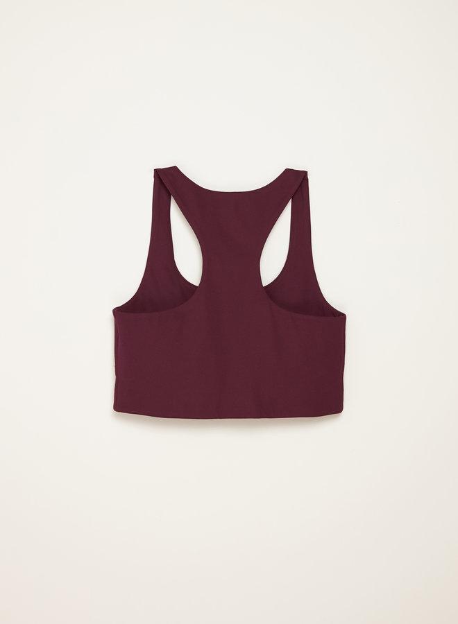 Girlfriend Collective | Paloma sports bra plum