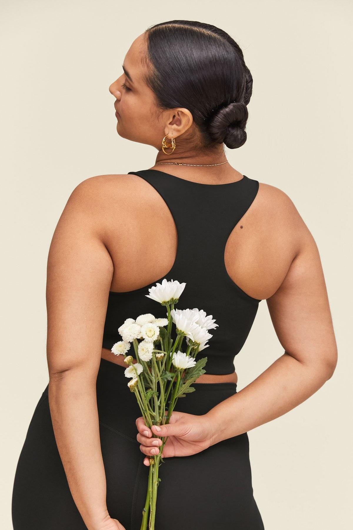 Girlfriend Collective | Paloma sports bra black-7