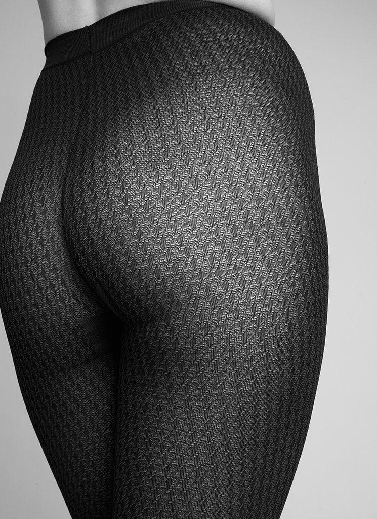Swedish Stockings | Agnes Tights 60 denier black-1