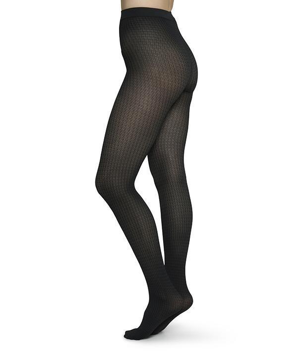 Swedish Stockings | Agnes Tights 60 denier black-3