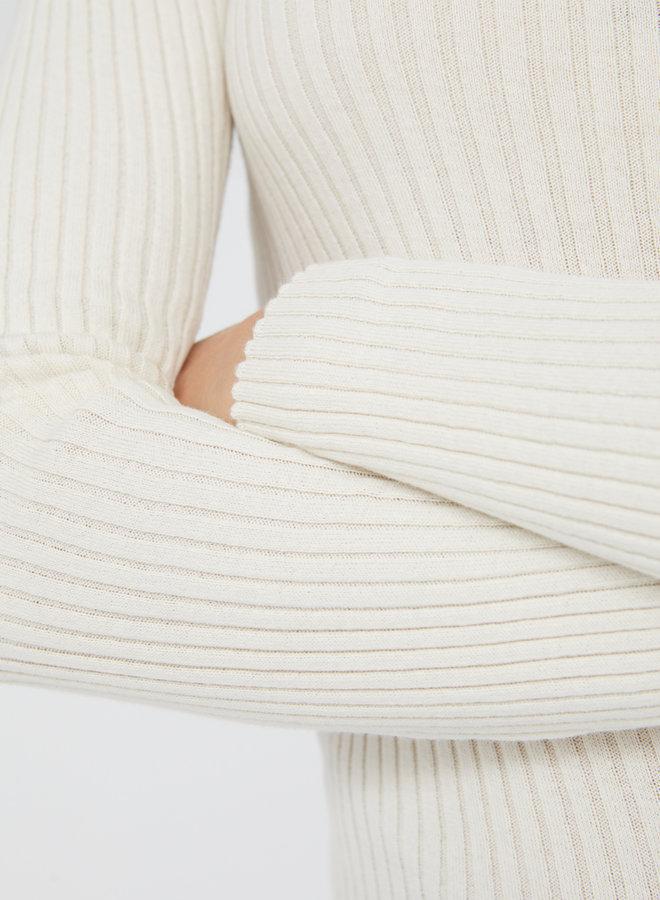 Armedangels | Alaani crewneck oatmilk organic cotton
