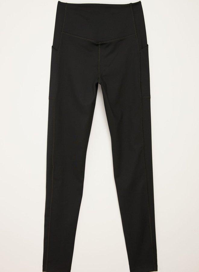 Girlfriend Collective | Compressive high-rise pocket legging zwart