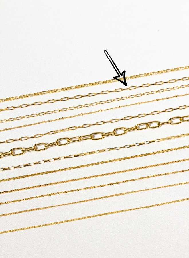 Wildthings | Necklace medium gold (40cm)
