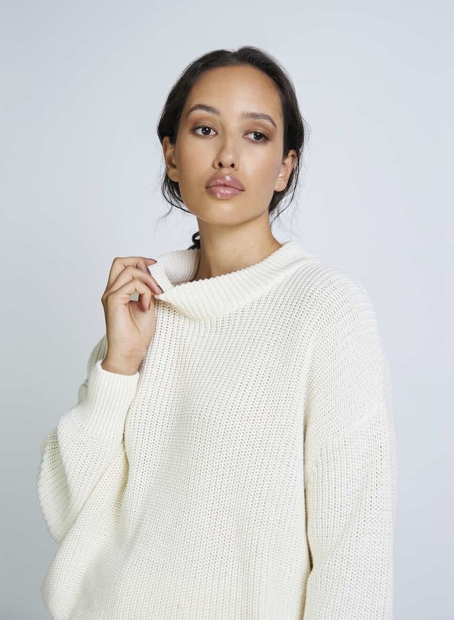 Jan 'n June | Soho Jumper Offwhite Organic Cotton
