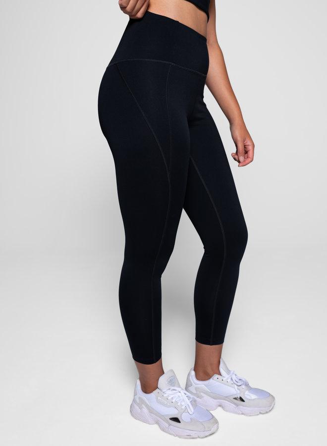 Compressive high-rise legging 7/8 zwart