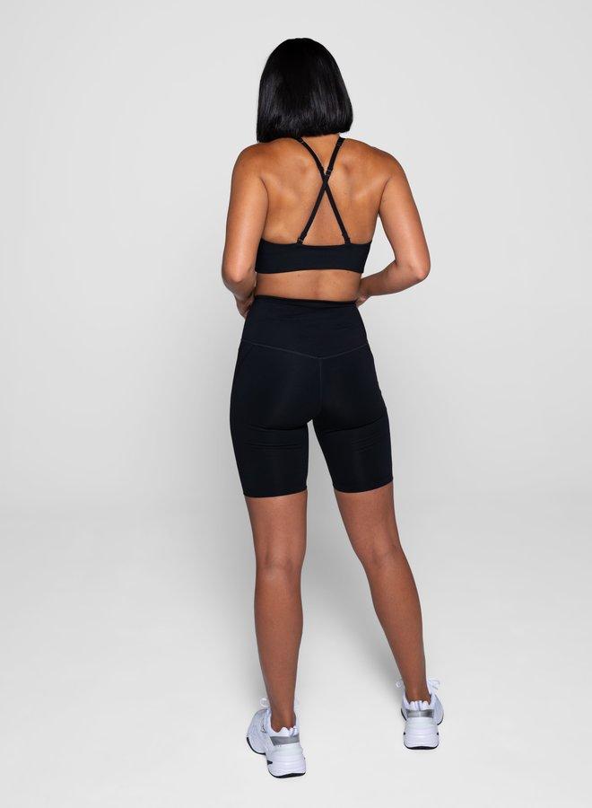 Girlfriend Collective | High-Rise Bike Short Black