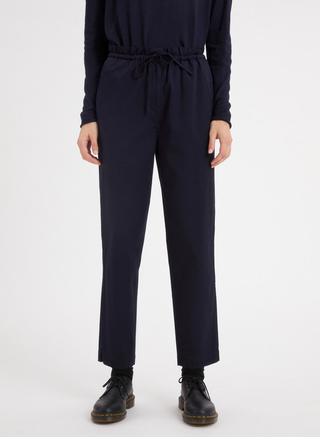 Sabinaa Pants navy organic cotton