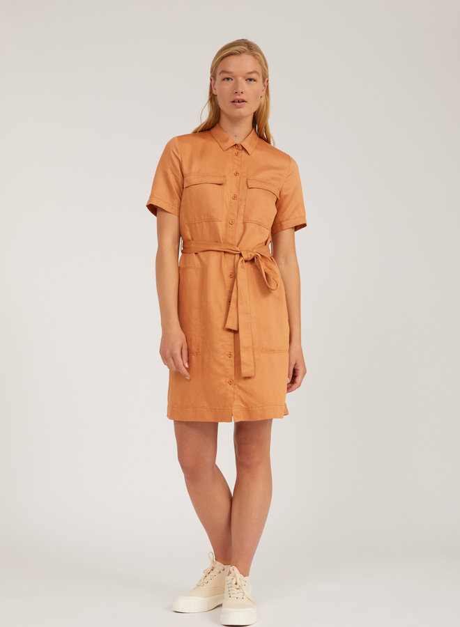 Mirvaa Dress Toasted Hazel Tencel™ / Linen