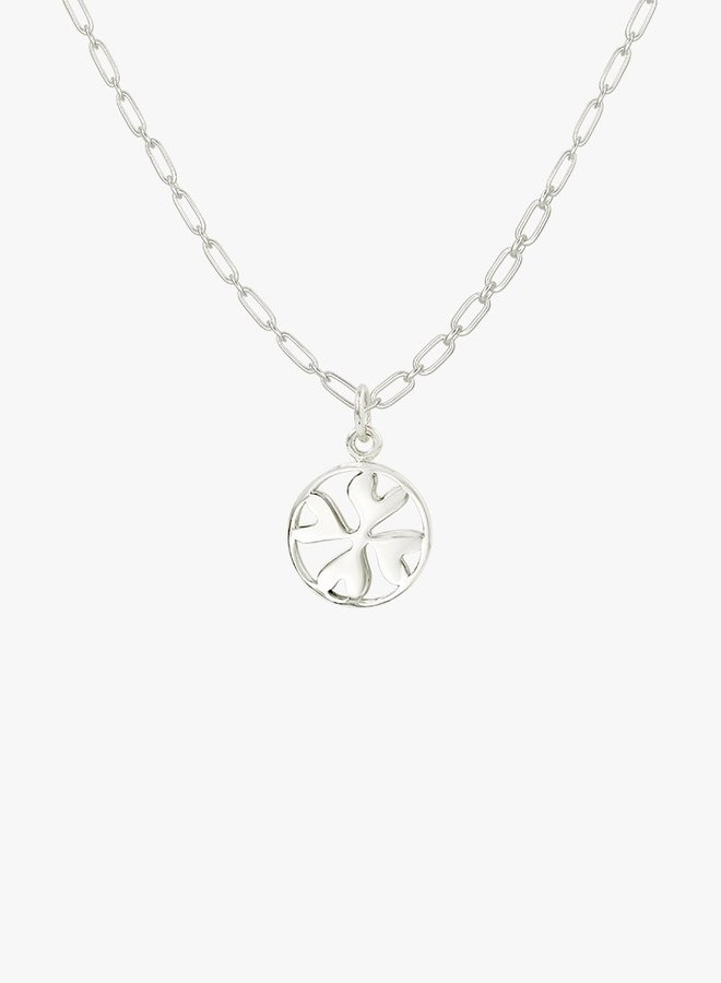 Wildthings   Clover Club pendant zilver