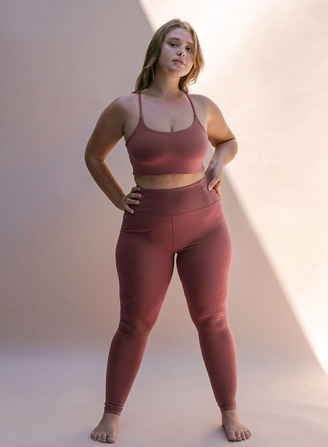 Girlfriend Collective | Float Seamless High-Rise Legging Fig