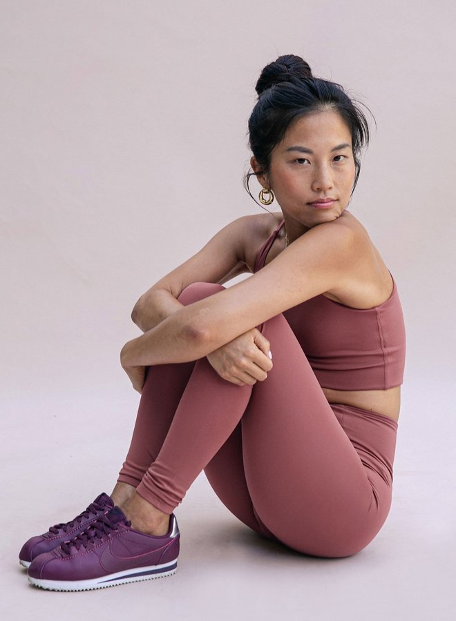 Girlfriend Collective   Float Seamless High-Rise Legging Fig