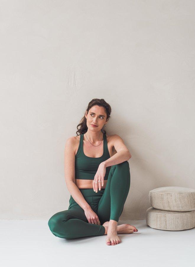 Girlfriend Collective | Compressive high-rise pocket legging moss