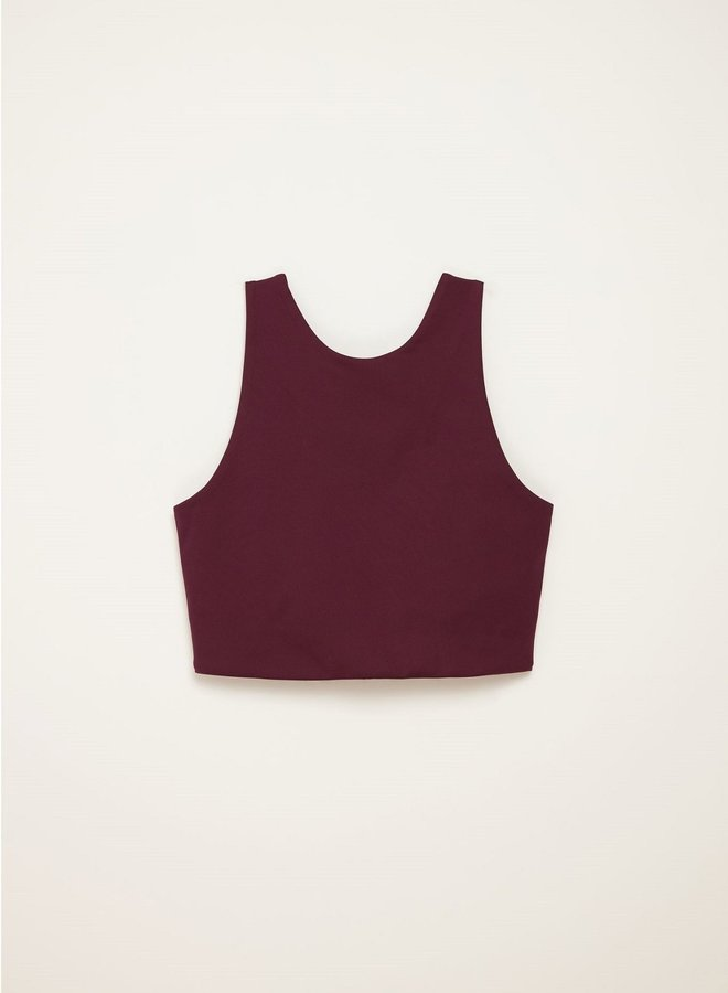 Girlfriend Collective | Dylan sports bra Plum