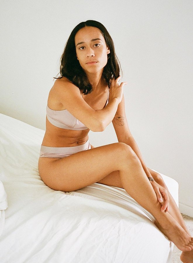 Organic Basics | Soft Touch Briefs 2-pack Dusty Rose Tencel ™
