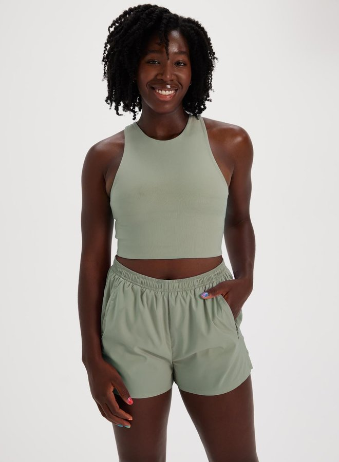 Girlfriend Collective | Dylan sports bra Agave