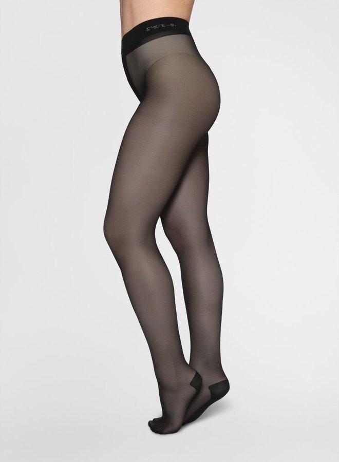 Swedish Stockings | Carla tights 30 denier black