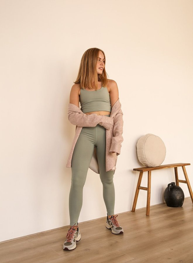 Girlfriend Collective | Compressive high-rise legging agave