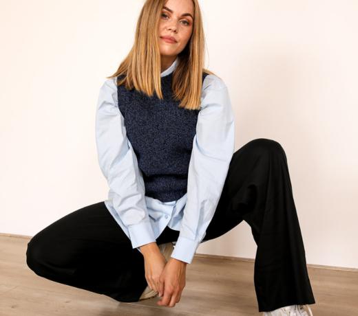 Fashion made of organic wool