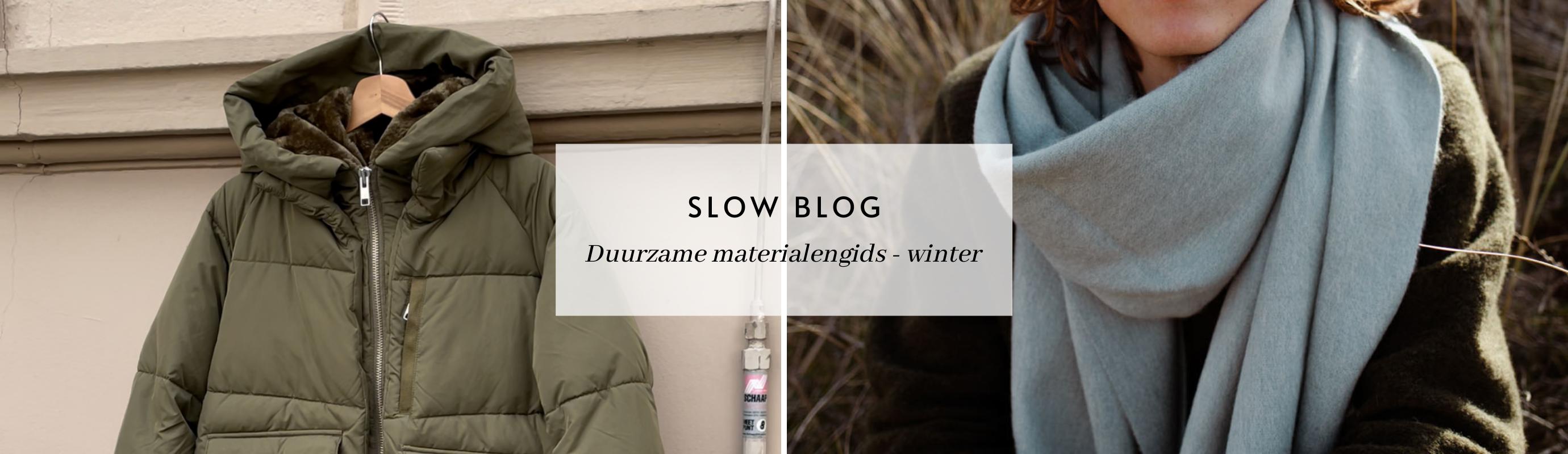 Duurzame materialengids - winter