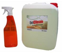 beClean Profi-Badreiniger BATHCARE mit Sprühflasche 10 Liter Kanister
