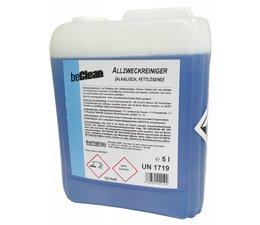 beClean Allzweckreiniger alkalisch FRESH BLUE, 5 Liter Kanister