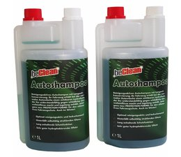 beClean Auto-Shampoo 2x1000ml Dosierflasche