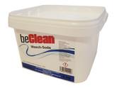 beClean 3 kg Waschsoda im Eimer