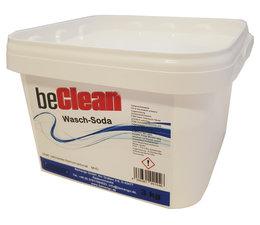 beClean Natriumcarbonat Waschsoda 3kg im Eimer