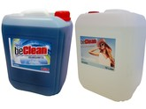 beClean Blue sea 10 Liter und 10 Liter Brilliant
