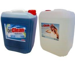 beClean Kombipaket Blue sea 10 Liter und 10 Liter Brilliant